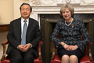 London: Chinese Vice Premier visit, 11 Nov. 2016