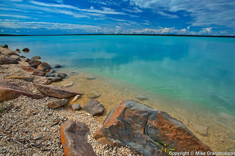 Little Limestone Lake<br />Little Limestone Lake near Grand Rapids<br />Manitoba<br />Canada