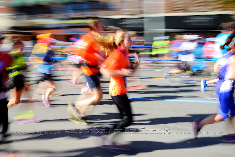 Color of NYC Marathon, 2016.