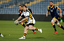 Brendan Macken of Wasps A passes the ball - Mandatory by-line: Robbie Stephenson/JMP - 03/04/2017 - RUGBY - Sixways Stadium - Worcester, England - Worcester Cavaliers v Wasps A - Aviva A League