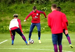 Ben Bereton takes part in training with England Under 19s ahead of the International Friendlies against Poland and Germany - Mandatory by-line: Robbie Stephenson/JMP - 31/08/2017 - FOOTBALL - England U19 - Training session ahead of international friendlies against Poland and Germany