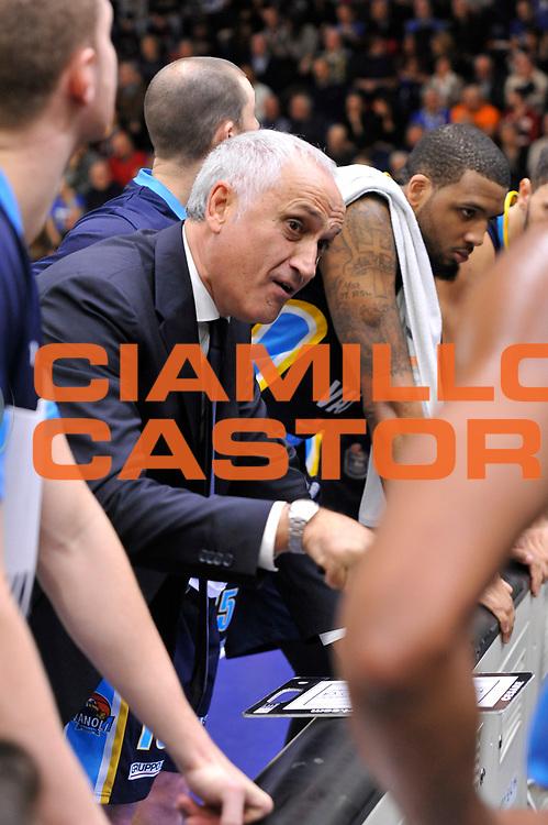 Cesare Pancotto<br /> Banco di Sardegna Dinamo Sassari - Vanoli Cremona<br /> LegaBasket Serie A LBA Poste Mobile 2016/2017<br /> Sassari 26/11/2016<br /> Foto Ciamillo-Castoria