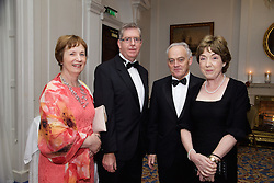 23/10/2015<br /> 10/23/2015<br /> 23 October 2015<br />  Guild of Agricultural Journalists &ndash; Michael Dillon Lecture at the Shelbourne Hotel, Dublin. For Farmer's Journal. <br /> At the event were (l-r): Diane Donaldson; Brian Donaldson; Tom Moran and Liz Moran.