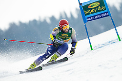 TAHIRI Albin of Kosovo competes during the Audi FIS Alpine Ski World Cup Men's Giant Slalom 58th Vitranc Cup 2019 on March 9, 2019 in Podkoren, Kranjska Gora, Slovenia. Photo by Matic Ritonja / Sportida