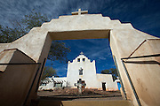 St. Joseph Mission in Laguna Pueblo, New Mexico, was built in 1699, making it one of the longest standing missions in the United States. (CNS photo/Nancy Wiechec) See PUEBLO-HISTORY and SANTAFE-EFFORTS stories