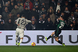 "Foto Filippo Rubin<br /> 10/02/2019 Reggio Emilia (Italia)<br /> Sport Calcio<br /> Sassuolo - Juventus - Campionato di calcio Serie A 2018/2019 - Stadio ""Mapei Stadium""<br /> Nella foto: GOAL JUVENTUS EMRE CAN (JUVENTUS)<br /> <br /> Photo Filippo Rubin<br /> February 10, 2019 Reggio Emilia (Italy)<br /> Sport Soccer<br /> Sassuolo vs Juventus - Italian Football Championship League A 2018/2019 - ""Mapei Stadium"" Stadium <br /> In the pic: GOAL JUVENTUS EMRE CAN (JUVENTUS)"