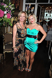 Left to right, leading make-up artist MARY GREENWELL and TAMSIN LONSDALE at a party hosted by the Supper Club in honour of Mary Greenwell held at Beach Blanket Babylon, Ledbury Road, London on 25th June 2008.<br /><br />NON EXCLUSIVE - WORLD RIGHTS