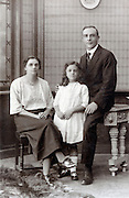 early 1900s family portrait England