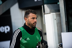 October 20, 2018 - Turin, Piedmont, Italy - Andrea Barzagli of Juventus during the Serie A match between Juventus and Genoa at the Allianz Stadium, the final score was 1-1 in Turin, Italy on 20 October 2018. (Credit Image: © Alberto Gandolfo/Pacific Press via ZUMA Wire)