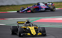 February 26, 2018 - Barcelona, Catalonia, Spain - the Renault of Nico Hulkenberg during the tests at the Barcelona-Catalunya Circuit, on 26th February 2018 in Barcelona, Spain. (Credit Image: © Joan Valls/NurPhoto via ZUMA Press)