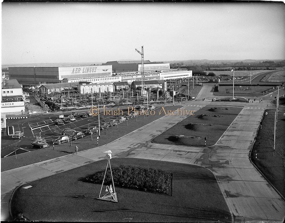 23/11/1961.11/23/1961.23 November 1961.Progress scenes at Dublin Airport.