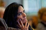 Roma 2 Aprile 2014<br />  I carabinieri del Comando tutela patrimonio culturale hanno recuperato due capolavori dell'Impressionismo francese rubati a Londra nel 1970. Si tratta di un'opera di Gauguin intitolata 'Fruits sur une table ou nature morte au petit chien' ('Frutti su una tavola o natura morte con cagnolino') e del dipinto di Bonnard 'La femme aux deux fauteuils', ossia 'Donna con due poltrone'. L'opera di Gauguin, stando alle quotazioni attuali, sottolineano dal Comando carabinieri Tpc, ha un valore compreso tra i 15 ed i 35 milioni di euro, mentre quella di Bonnard si aggira intorno ai 600 mila euro. La sottosegretaria alla cultura  Francesca Barracciu<br /> Rome 2 April 2014<br /> The Carabinieri of the Command it protects cultural patrimony , have recovered two masterpieces of the French impressionism stolen in London in 1970. It is a work of Gauguin titled 'Fruits sur une table ou nature morte au petit chien' ('Fruit on a table or death nature with little dog') and Bonnard's painting 'La femme aux deux fauteuils', i( Woman with two armchairs). The work of Gauguin, according to current prices emphasize the Carabinieri TPC Command, has a value between 15 and 35 million Euros, while that of Bonnard is around 600 thousand euro.The Under Secretary to the culture Francesca Barracciu