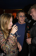 """Roger Daltrey and Geof Wonfor. The DVD Screening of """"The Who: Quadrophenia And Tommy Live"""" at the Curzon Mayfair on November 2, 2005 in London,. ONE TIME USE ONLY - DO NOT ARCHIVE © Copyright Photograph by Dafydd Jones 66 Stockwell Park Rd. London SW9 0DA Tel 020 7733 0108 www.dafjones.com"""