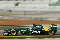Motorsports / Formula 1: World Championship 2011, Test Valencia, Heikki Kovalainen ( FIN, Lotus )