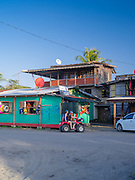 Maxi's restaurant, in downtown Manzanillo, Limon, Costa Rica