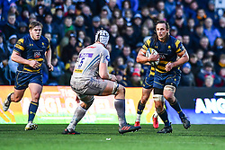 Anton Bresler of Worcester Warriors in action - Mandatory by-line: Craig Thomas/JMP - 27/01/2018 - RUGBY - Sixways Stadium - Worcester, England - Worcester Warriors v Exeter Chiefs - Anglo Welsh Cup