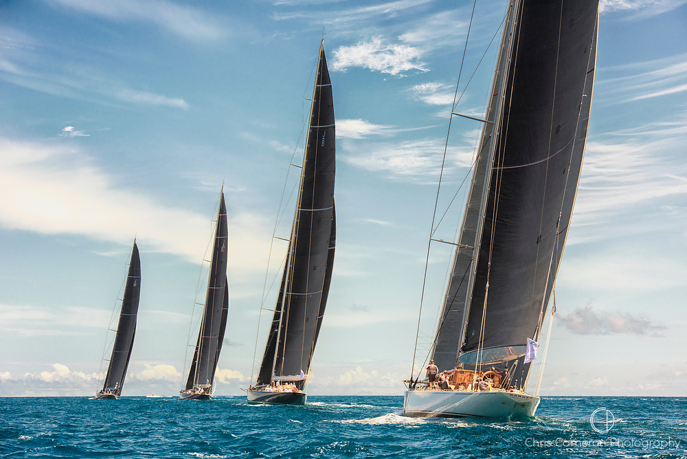 Bermuda, 13th June 2017. America's Cup Superyacht regatta. J Class race one.