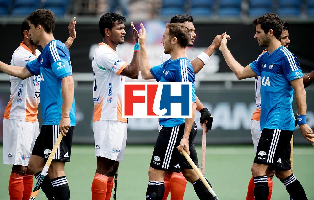 BREDA - Rabobank Hockey Champions Trophy<br /> India - Argentina<br /> Photo: <br /> COPYRIGHT WORLDSPORTPICS FRANK UIJLENBROEK