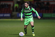 Forest Green Rovers Scott Laird(3) during the EFL Sky Bet League 2 match between Crewe Alexandra and Forest Green Rovers at Alexandra Stadium, Crewe, England on 20 March 2018. Picture by Shane Healey.