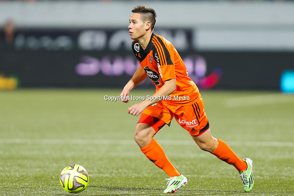 Raphael GUERREIRO  - 20.12.2014 - Lorient / Nantes - 19eme journee de Ligue 1 -<br /> Photo : Vincent Michel / Icon Sport