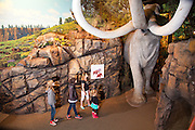 Kids exploring the Columbia Gorge Discovery Center at The Dalles, Oregon
