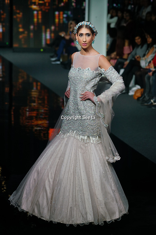 Monga showcases latest collection at the National Asian Wedding Show on 11th Novmber 2017, Olympia London.