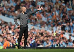 Manchester City manager Pep Guardiola - Mandatory by-line: Jack Phillips/JMP - 20/04/2019 - FOOTBALL - Etihad Stadium - Manchester, England - Manchester City v Tottenham Hotspur - English Premier League