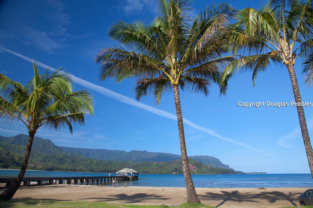 Hanalei pier, Hanalei, Kauai, Hawaii