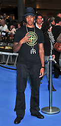 "© licensed to London News Pictures. London, UK  12/05/11 Chipmunk attends the UK premiere of Pirates of the Carribean 4 ""on Stranger Tides"" at Londons Westfield . Please see special instructions for usage rates. Photo credit should read AlanRoxborough/LNP"