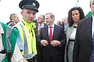 IFA and Enda Kenny at National Ploughing Championships, at Ratheniska, Co. Laois.