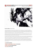 Website on HIV/ AIDS in Cambodia in conjunction with film for World AIDS conference 2004. Images depict children receiving antiretroviral therapy as well as Buddhist monks engaged in cleansing rituals in a village strongly affected by HIV/ AIDS.
