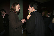 MICHAEL BIRCH, FOUNDER OF BEBO AND BRENT HOBERMAN , FOUNDER OF BEBO, Launch of Ziv Navoth's book Ð Nanotales. The Groucho Club, London. 22 February 2007. t -DO NOT ARCHIVE-© Copyright Photograph by Dafydd Jones. 248 Clapham Rd. London SW9 0PZ. Tel 0207 820 0771. www.dafjones.com.