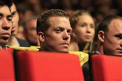 Steven Kruijswijk (NED) at the Tour de France 2020 route presentation held in the Palais des Congrès de Paris (Porte Maillot), Paris, France. 15th October 2019.<br /> <br /> Photo by Eoin Clarke | CF | PelotonPhotos.com<br /> <br /> All photos usage must carry mandatory copyright credit (© PelotonPhotos.com | CF | Eoin Clarke)