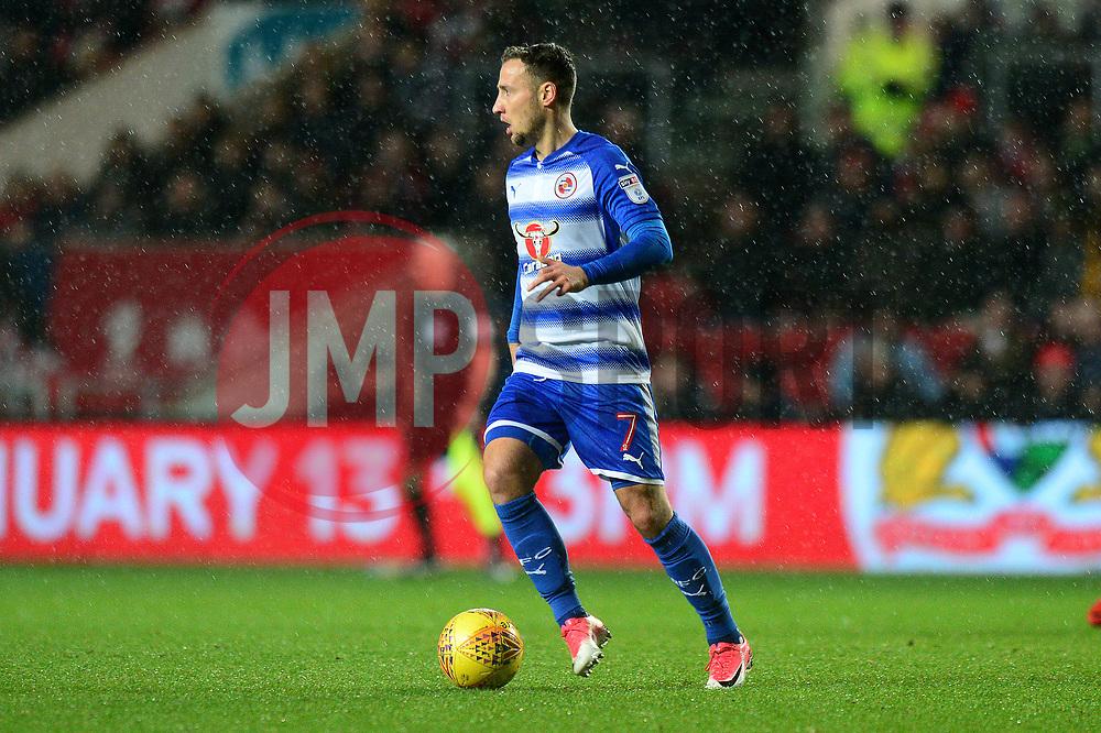 Roy Beerens of Reading - Mandatory by-line: Dougie Allward/JMP - 26/12/2017 - FOOTBALL - Ashton Gate Stadium - Bristol, England - Bristol City v Reading - Sky Bet Championship