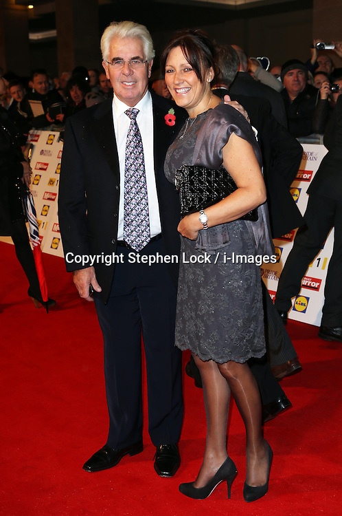 Max Clifford and wife Jo Westwood arriving at the Pride of Britain Awards in London, Monday, 29th October  2012 Photo by: Stephen Lock / i-Images