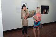 SOPHIA SCHORR-KON; LAURA PRENDERLEITH, Pop-UP Horsebox Gallery Preview of the Celebration of the Horse in art today  at the Wandsworth Museum,  West Hill. London SW18. 14 August 2012.