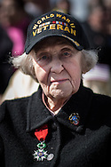 WWII veteran, Dorothy Levitsky-Sinner 97 y/o, volunteered w/sister, US Army Nursing Corps, in Picauville