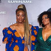 NLD/Amsterdam/20200217-Suriname filmpremiere, Maureen Powells en .............