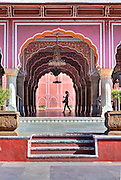 City Palace, Jaipur, India.