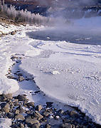 Sunset, Sunrise, Winter, Ice, snow, Nenana River, River, Denali, Denali National Park, National Park, Alaska