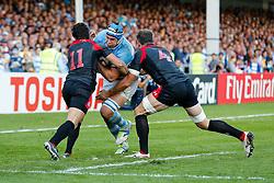 - Mandatory byline: Rogan Thomson/JMP - 07966 386802 - 25/09/2015 - RUGBY UNION - Kingsholm Stadium - Gloucester, England - Argentina v Georgia - Rugby World Cup 2015 Pool C.