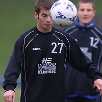St Johnstone training 19.10.01<br />