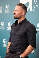 Murathan Muslu at the photocall for the film Pelikanblut (Pelican Blood) at the 76th Venice Film Festival, on Wednesday 28th August 2019, Venice Lido, Italy.