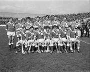 03/05/1970<br /> 05/03/1970<br /> 3 May 1970<br /> National Hurling League Final: Limerick v Cork at Croke Park, Dublin. <br /> The Limerick team.