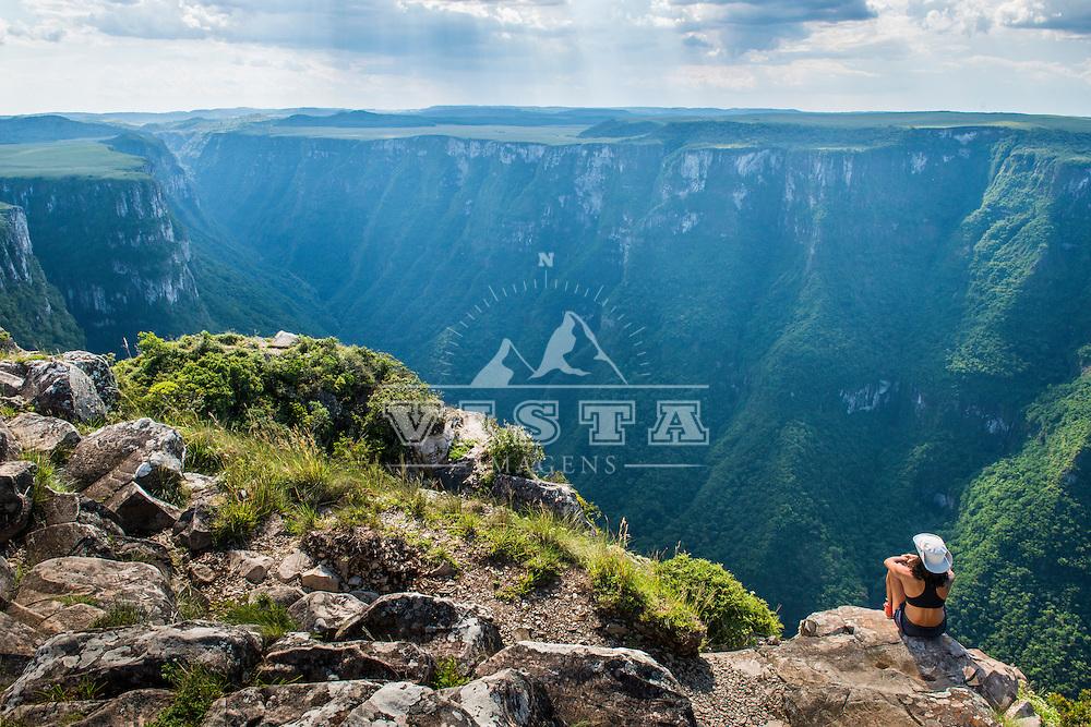 Cânion Fortaleza, Parque Nacional da Serra Geral, Cambará do Sul, Rio Grande do Sul, foto de Zé Paiva - Vista Imagens
