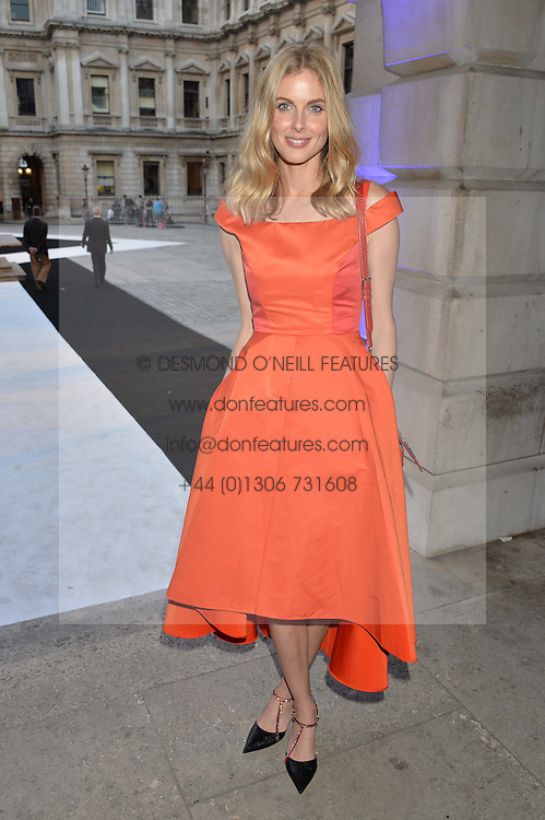 DONNA AIR at the Royal Academy of Arts Summer Exhibition Preview Party at The Royal Academy of Arts, Burlington House, Piccadilly, London on 7th June 2016.