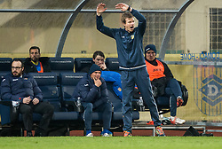 Simon Rozman, head coach of NK Domzale during football match between NK Domzale and NK Krka in Semifinal of Slovenian Football Cup 2016/17, on April 4, 2017 in Sports park Domzale, Slovenia. Photo by Vid Ponikvar / Sportida