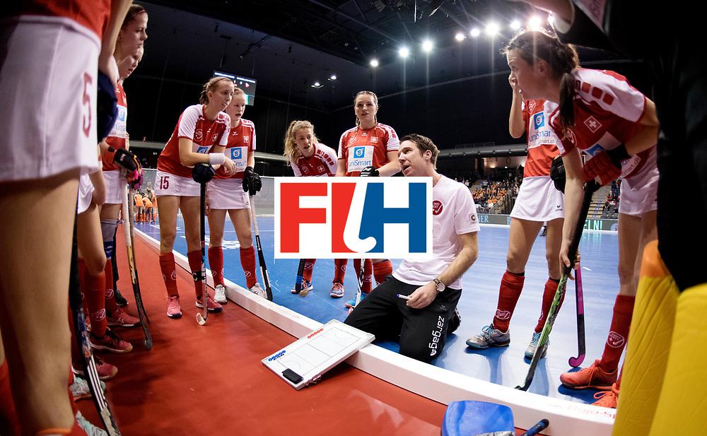 BERLIN - Indoor Hockey World Cup<br /> Women: Netherlands - Switzerland<br /> foto: KLOTER Michael.<br /> WORLDSPORTPICS COPYRIGHT FRANK UIJLENBROEK