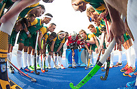 LUCKNOW (India) -   Junior World Cup hockey  U21 for men .  SOUTH AFRICA v  CANADA (poolD) Huddle RSA . COPYRIGHT  KOEN SUYK