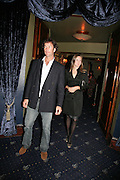 J.P. and Nina Clarkin, Guards Polo Club  reception. CafŽ de Paris, Coventry Street. London. 15 May 2007. -DO NOT ARCHIVE-© Copyright Photograph by Dafydd Jones. 248 Clapham Rd. London SW9 0PZ. Tel 0207 820 0771. www.dafjones.com.